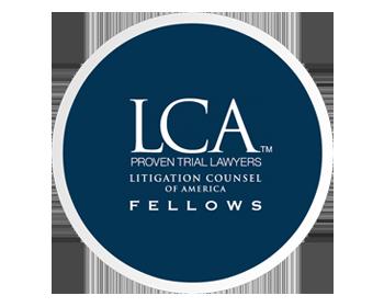 LCA logo in blue