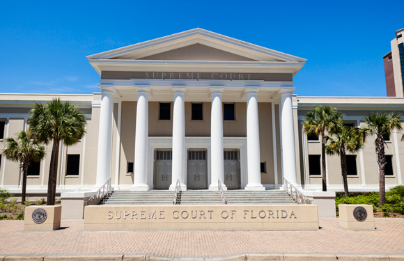 The front of the supreme court of florida