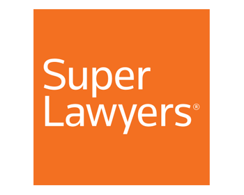 Supper lawyers logo in orange