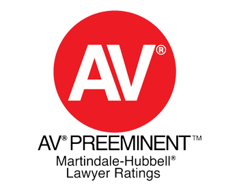 Logo of AV lawyer ratings