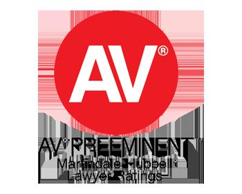 Logo of AV lawyer ratings