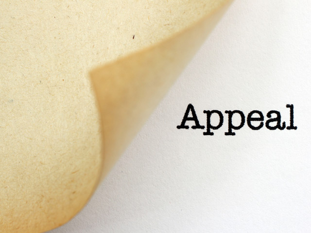 Appeal graphic